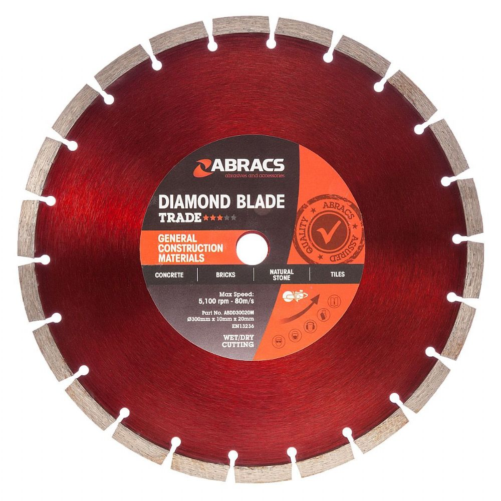 "Abracs 12"" (300mm) General Purpose Diamond Stihl Saw Blade"